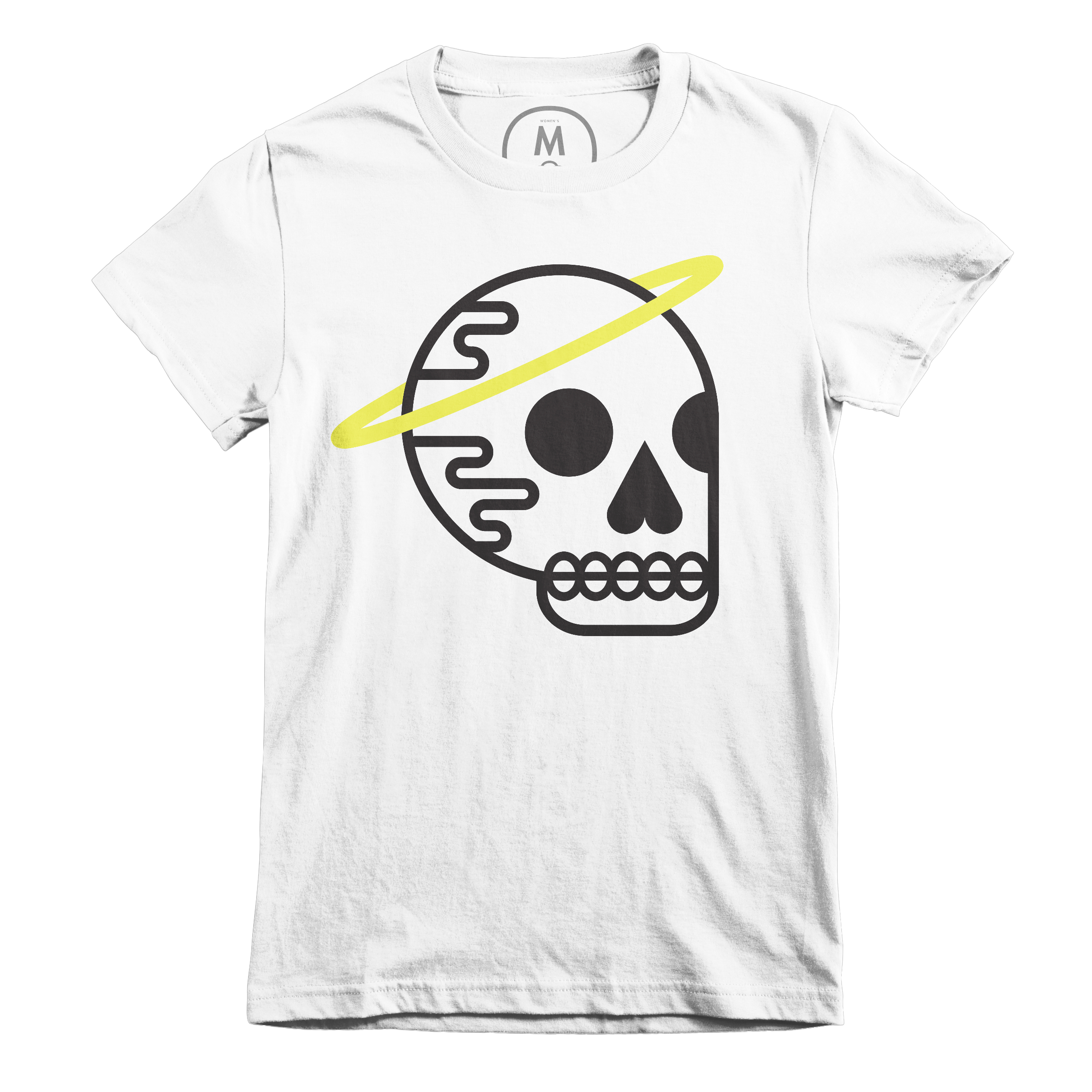 HASKU (Halo Skull) White (Women's)