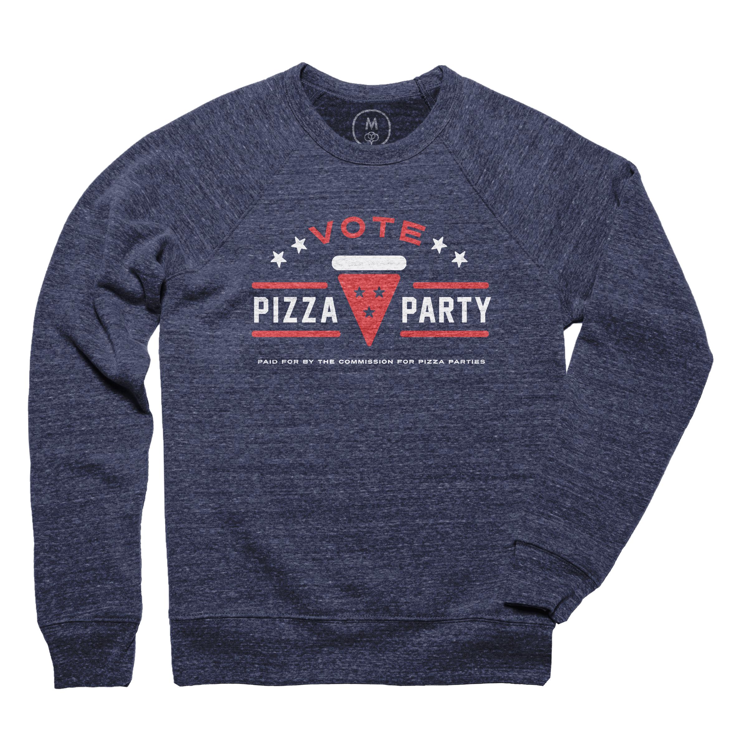 Pizza 2016 Pullover Crewneck