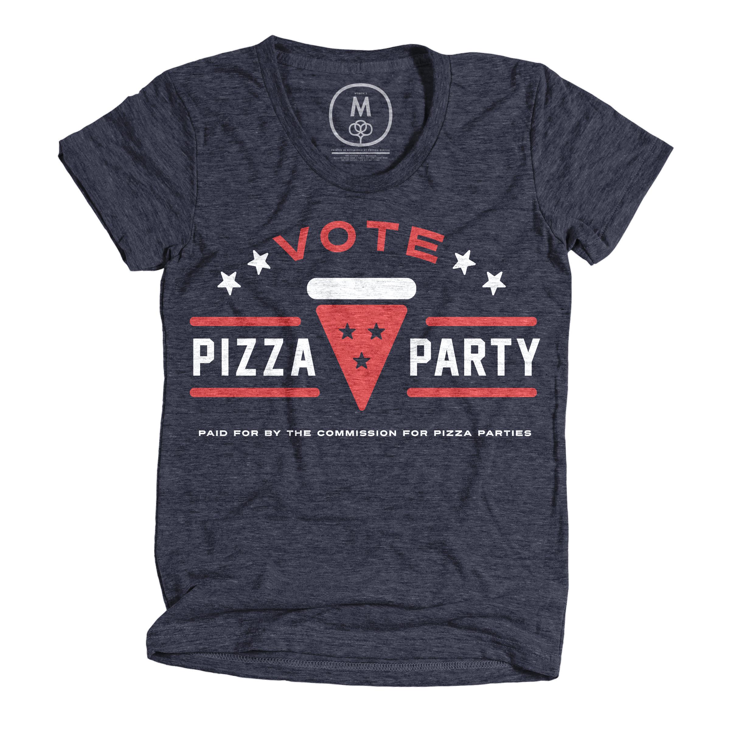 Pizza 2016 Vintage Navy (Women's)