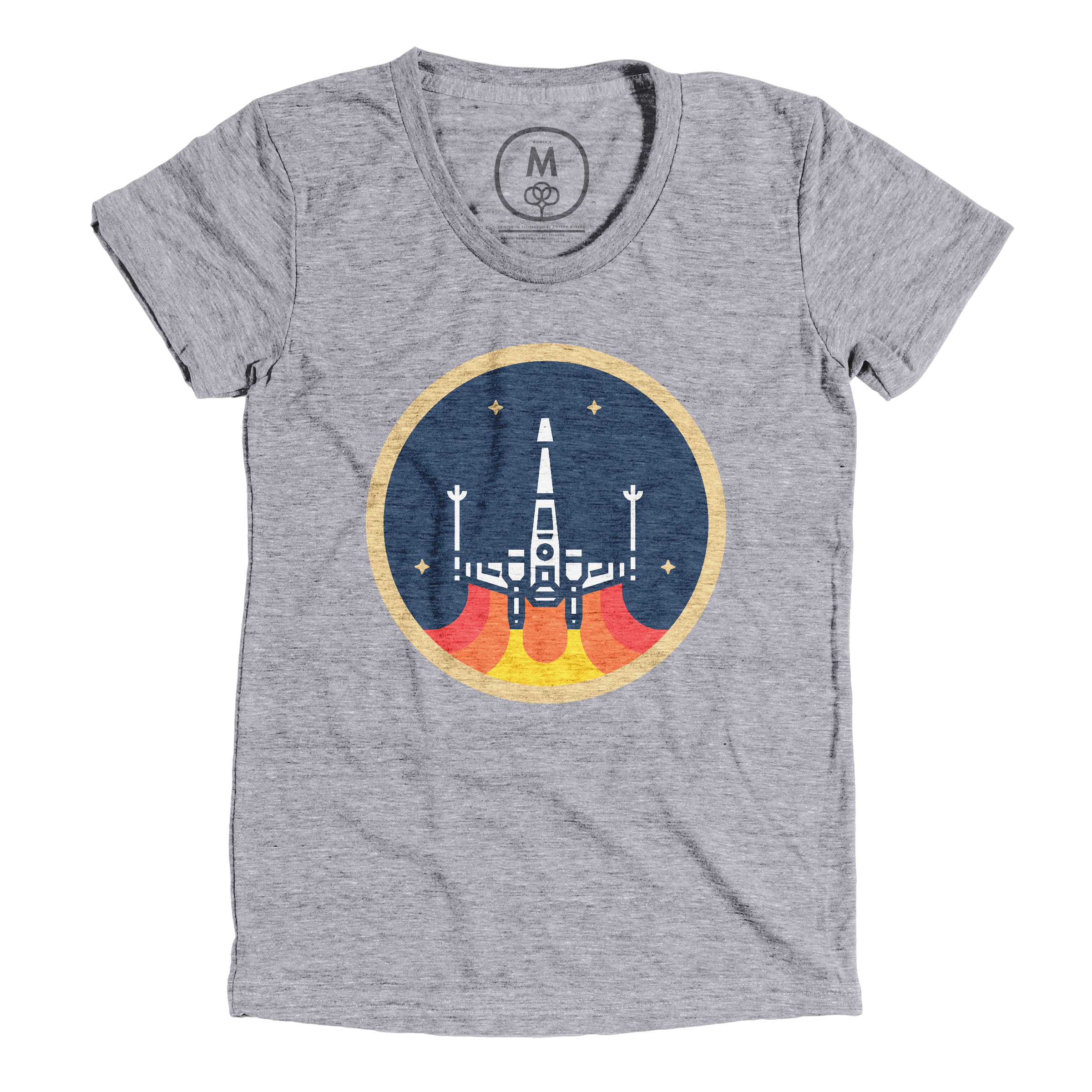 The X-Wing Fighter Premium Heather (Women's)