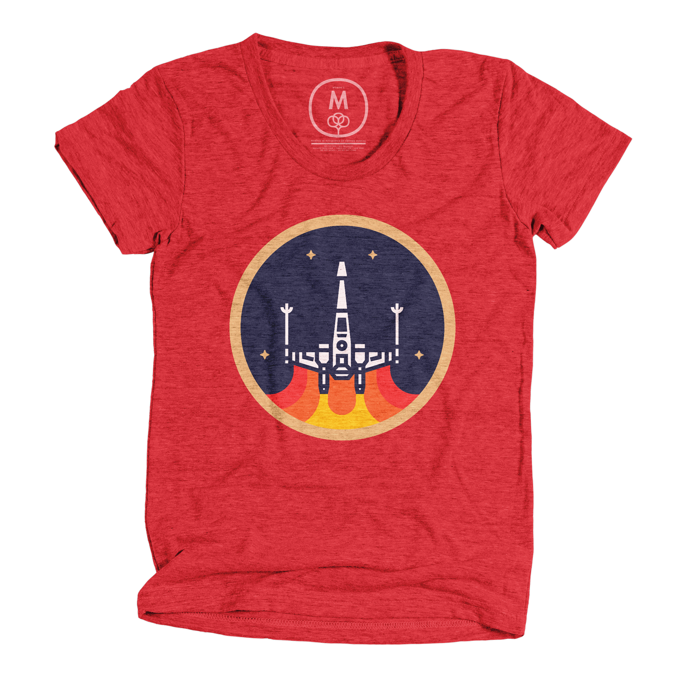 The X-Wing Fighter Vintage Red (Women's)