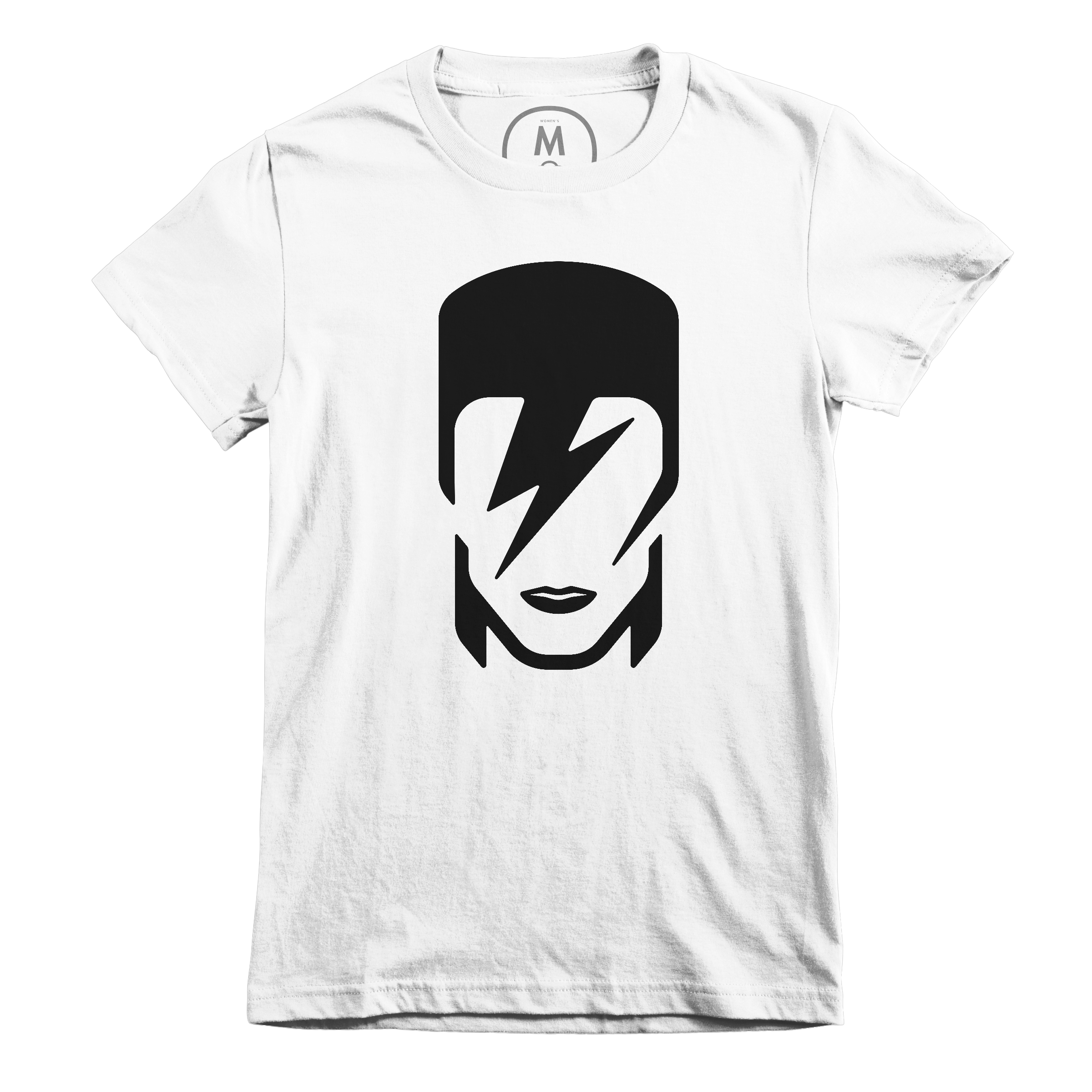 Tribute to David Bowie White (Women's)