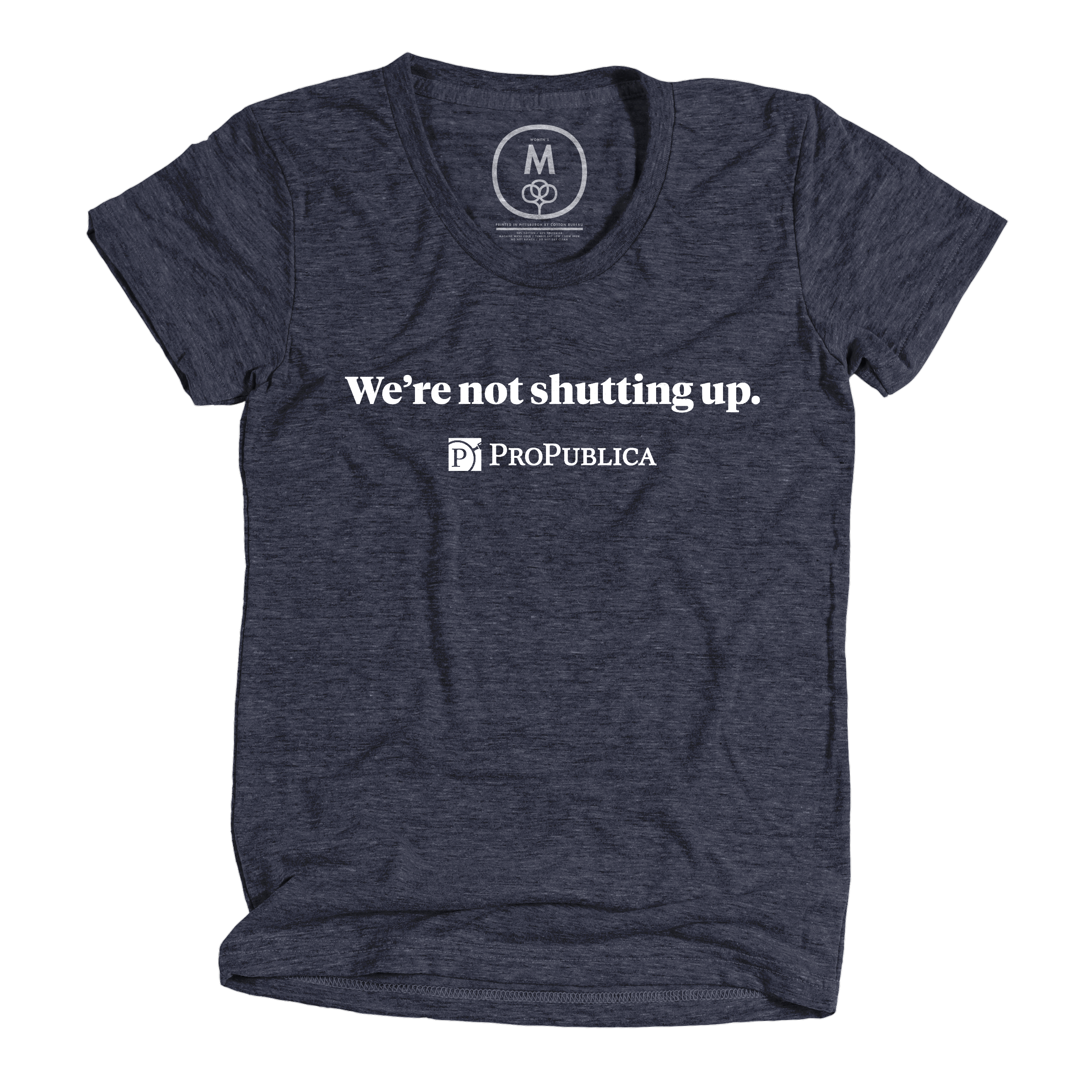 We're Not Shutting Up Vintage Navy (Women's)