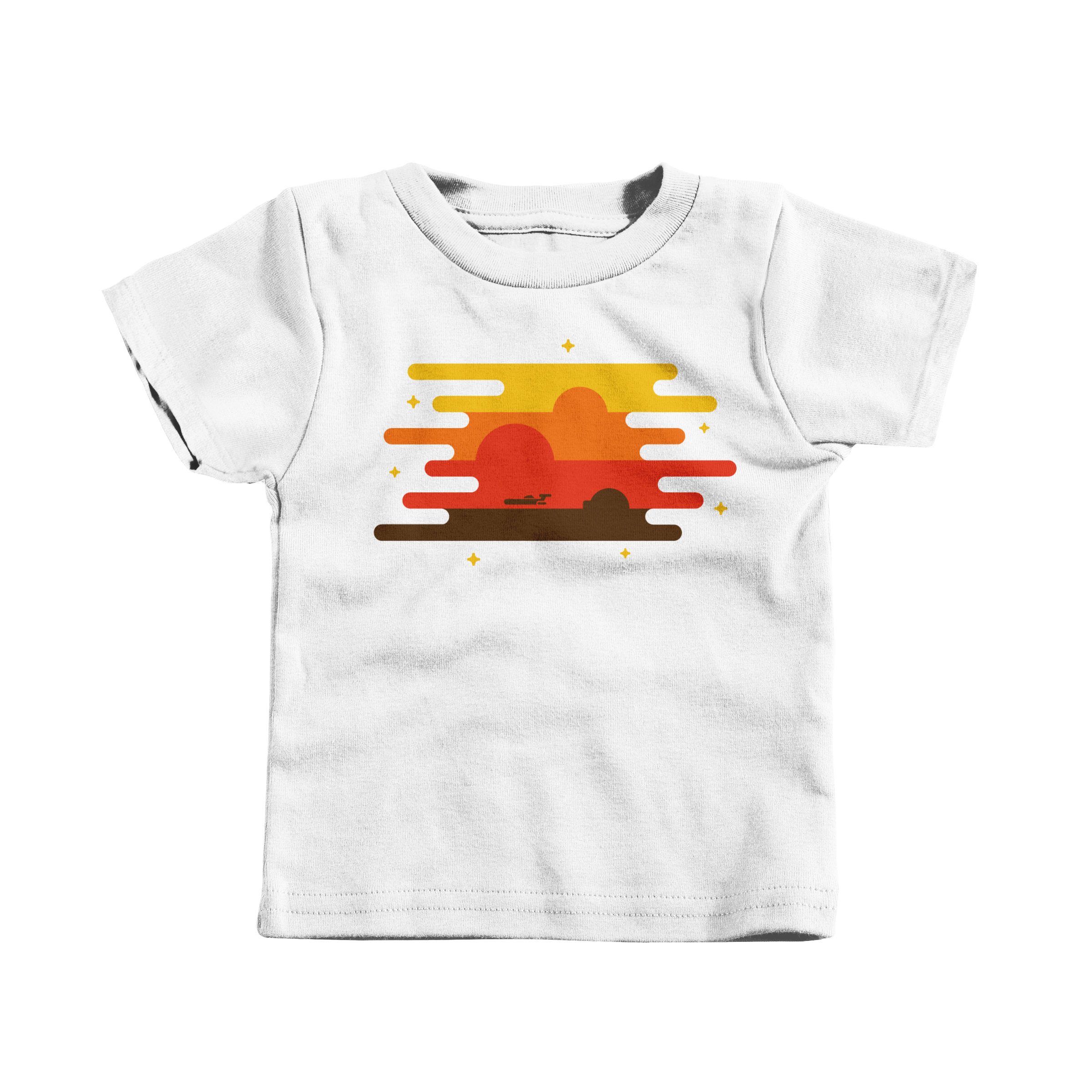 Teetooine White (T-Shirt)