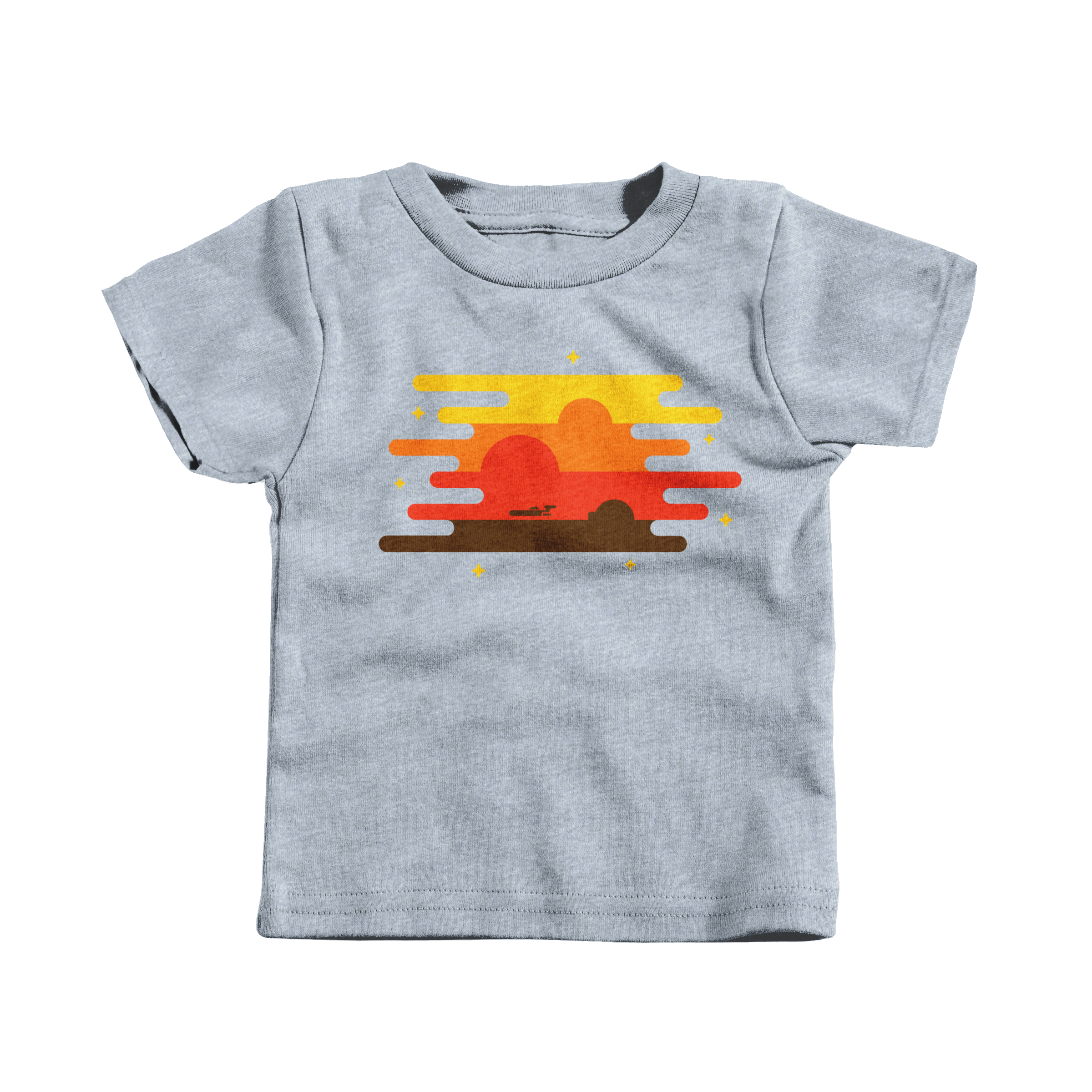 Teetooine Heather Grey (T-Shirt)