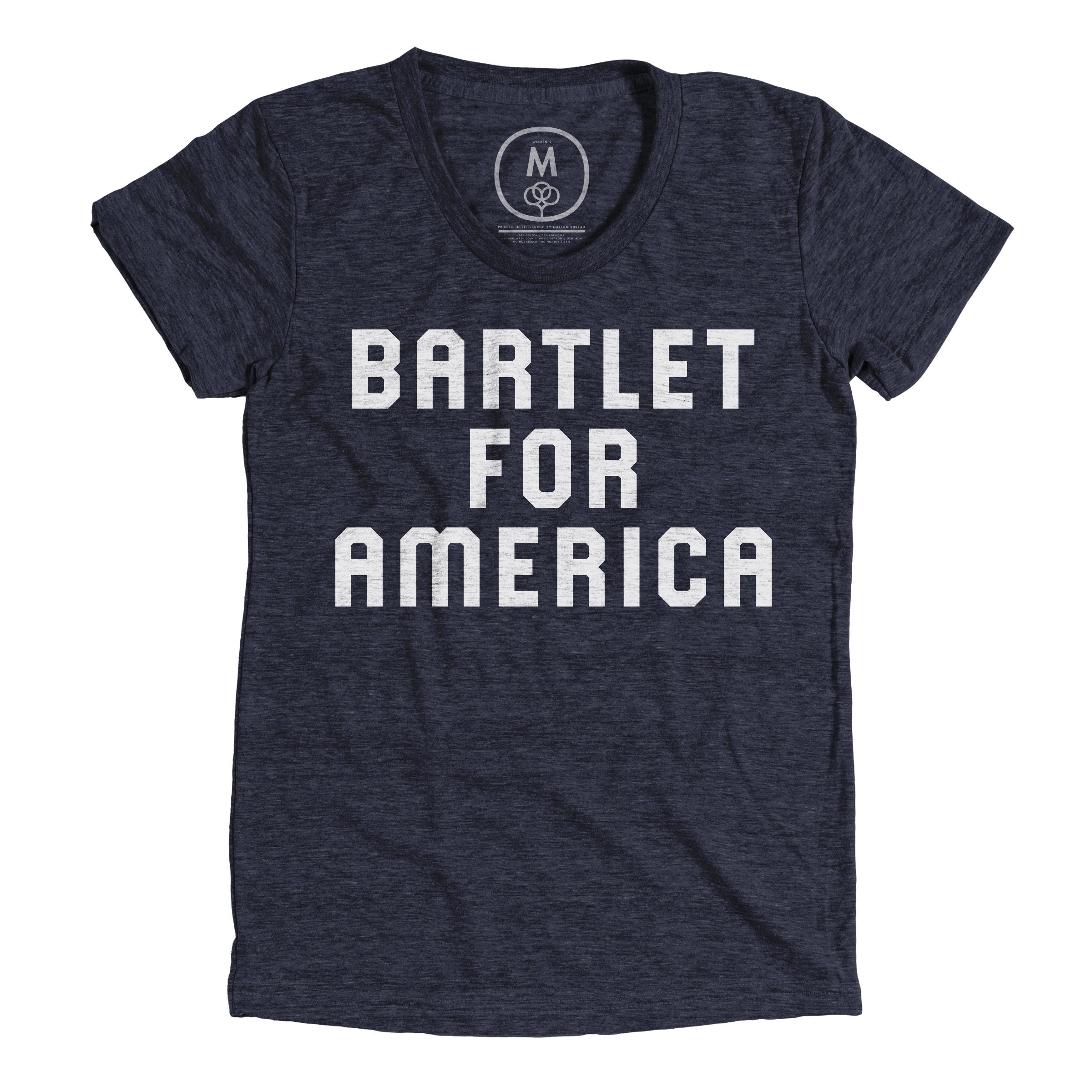 Bartlet For America Vintage Navy (Women's)
