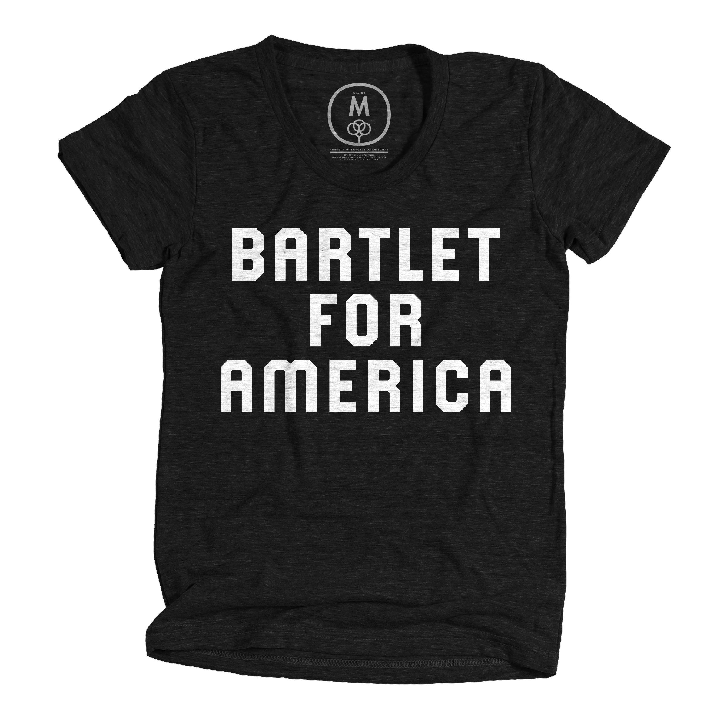 Bartlet For America Vintage Black (Women's)