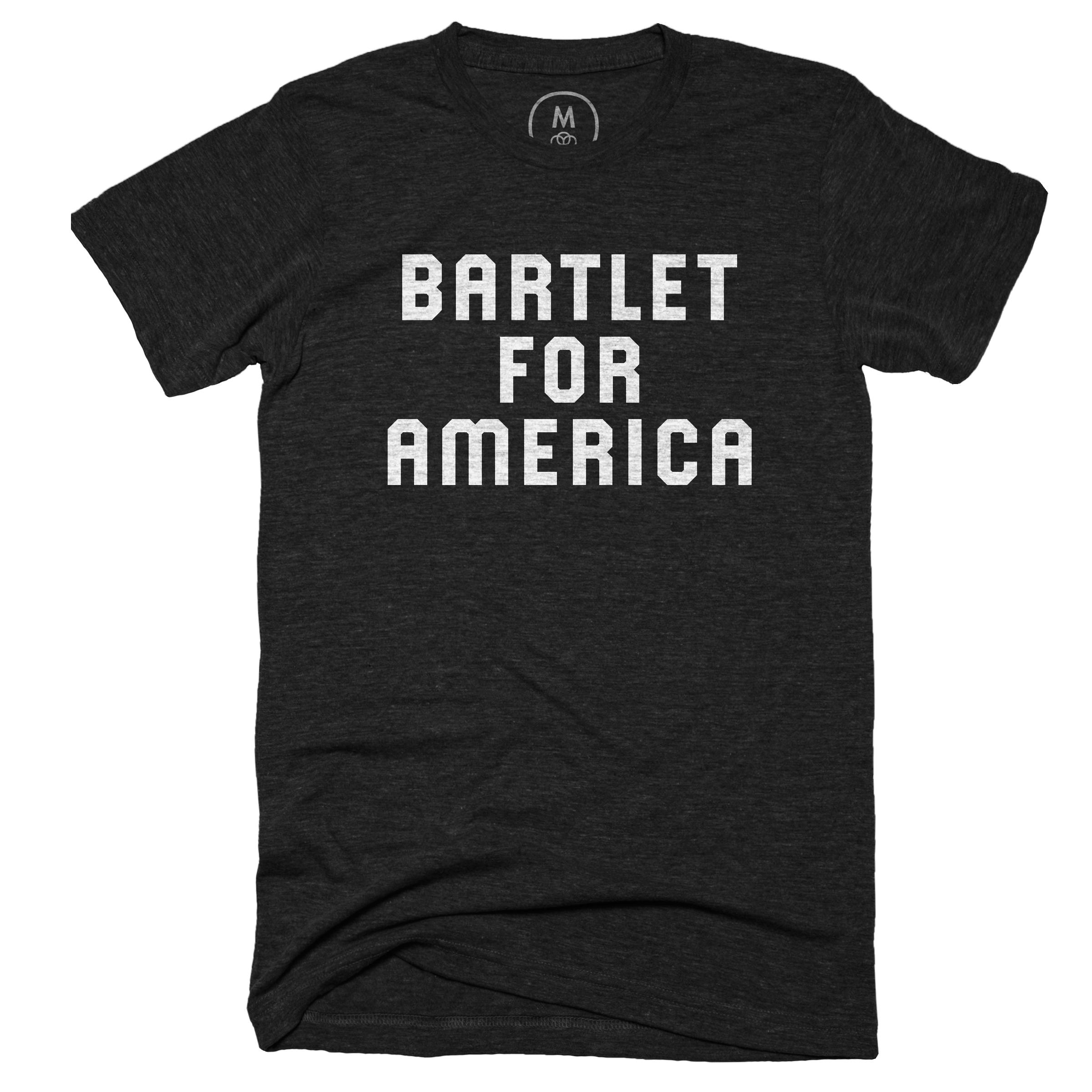 Bartlet For America Vintage Black (Men's)