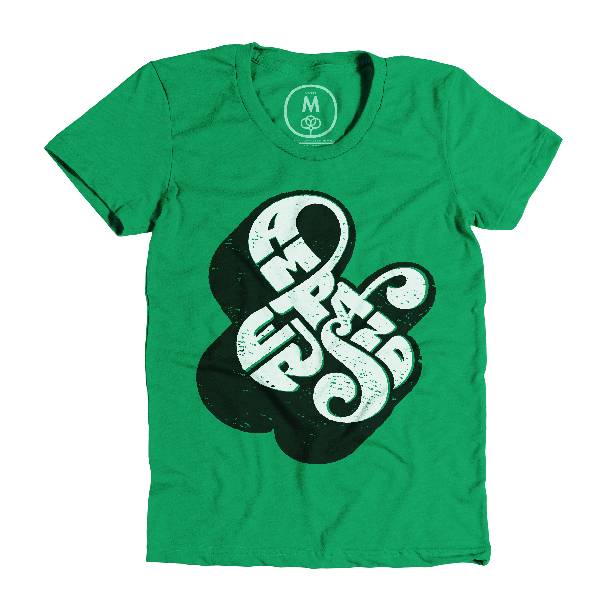 Self-Referential Ampersand Kelly Green (Women's)