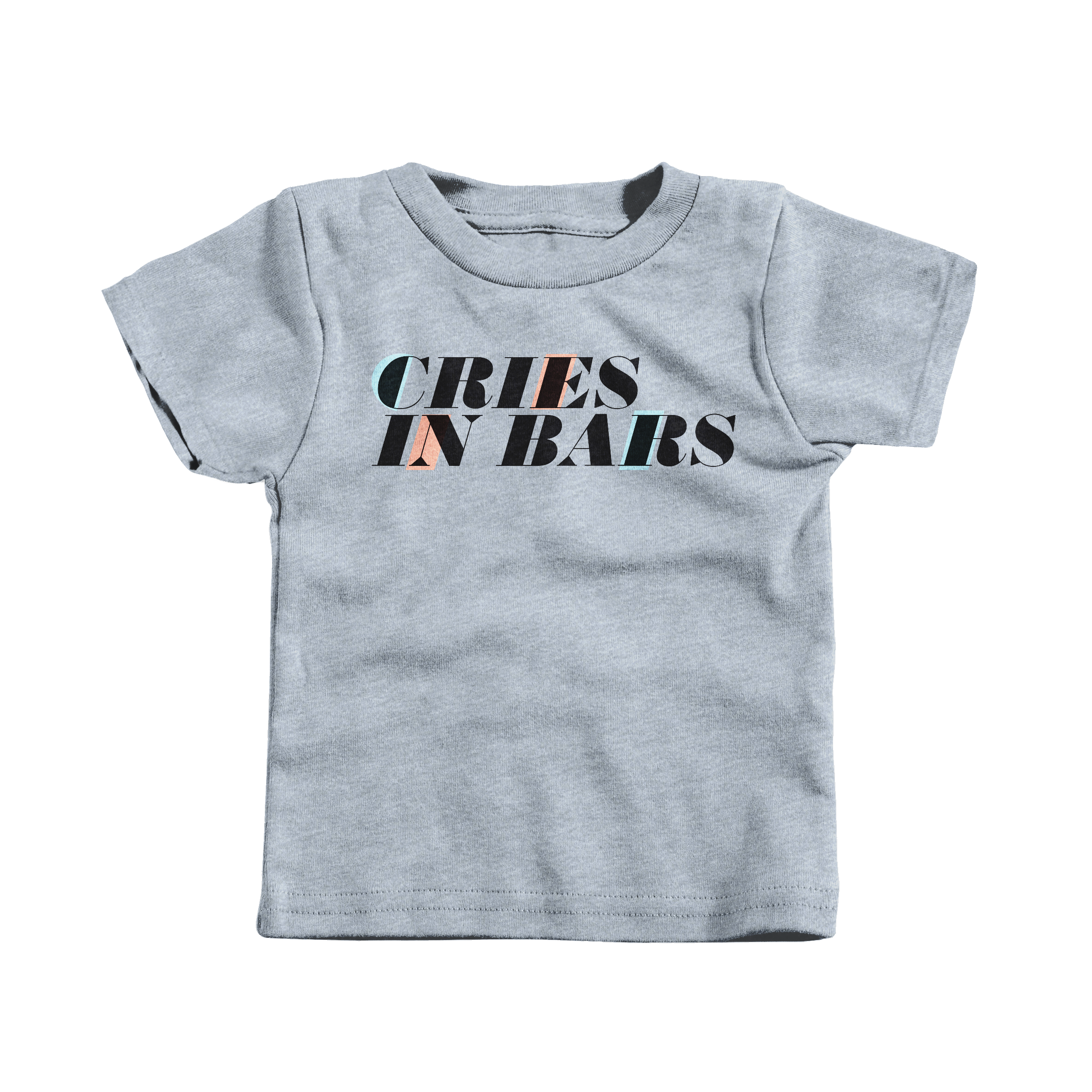 Cries in Bars Heather Grey (T-Shirt)