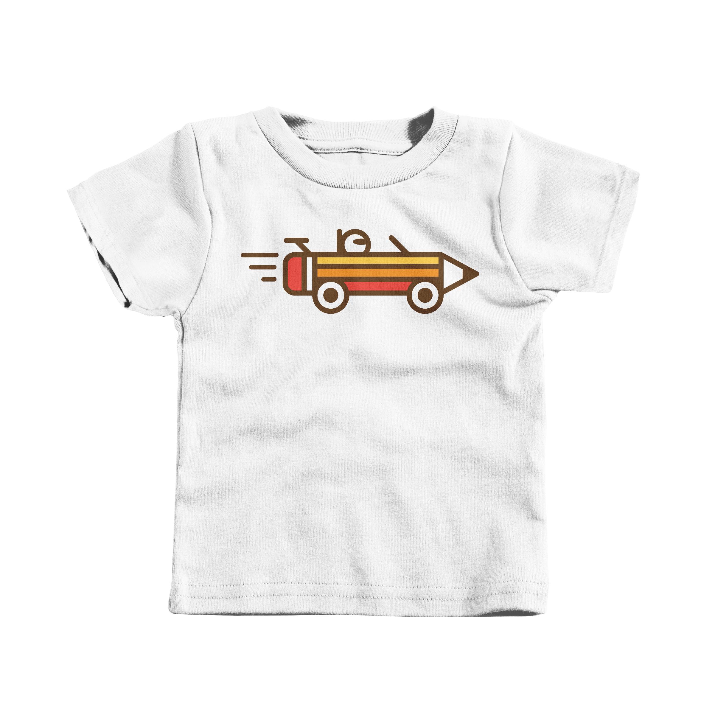 Creative Race White (T-Shirt)