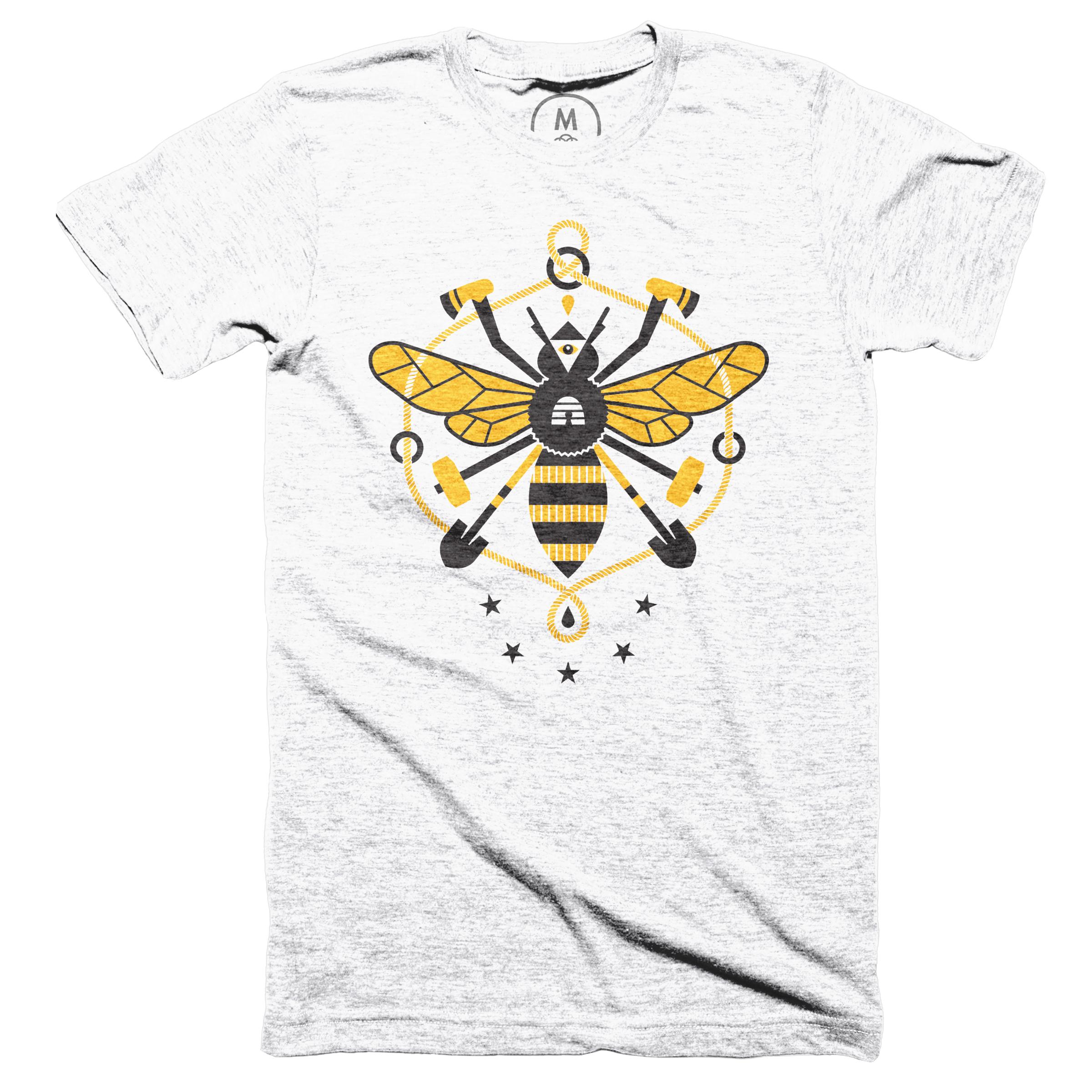 Worker Bee Heather White (Men's)