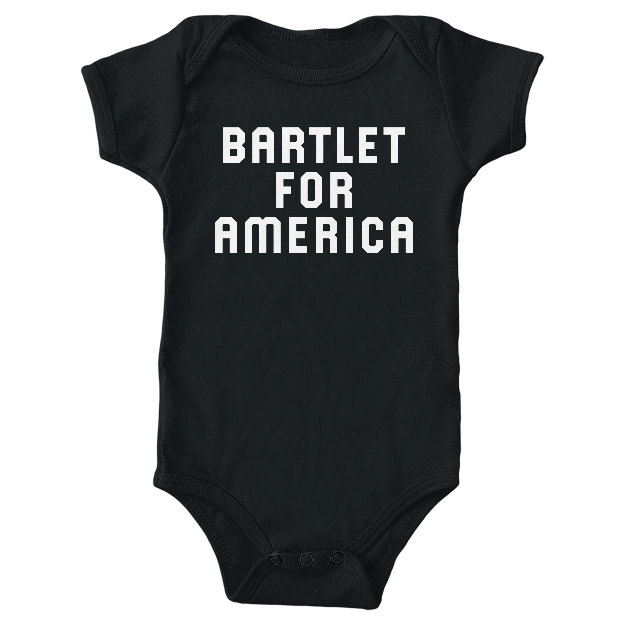 Bartlet For America Black (Onesie)