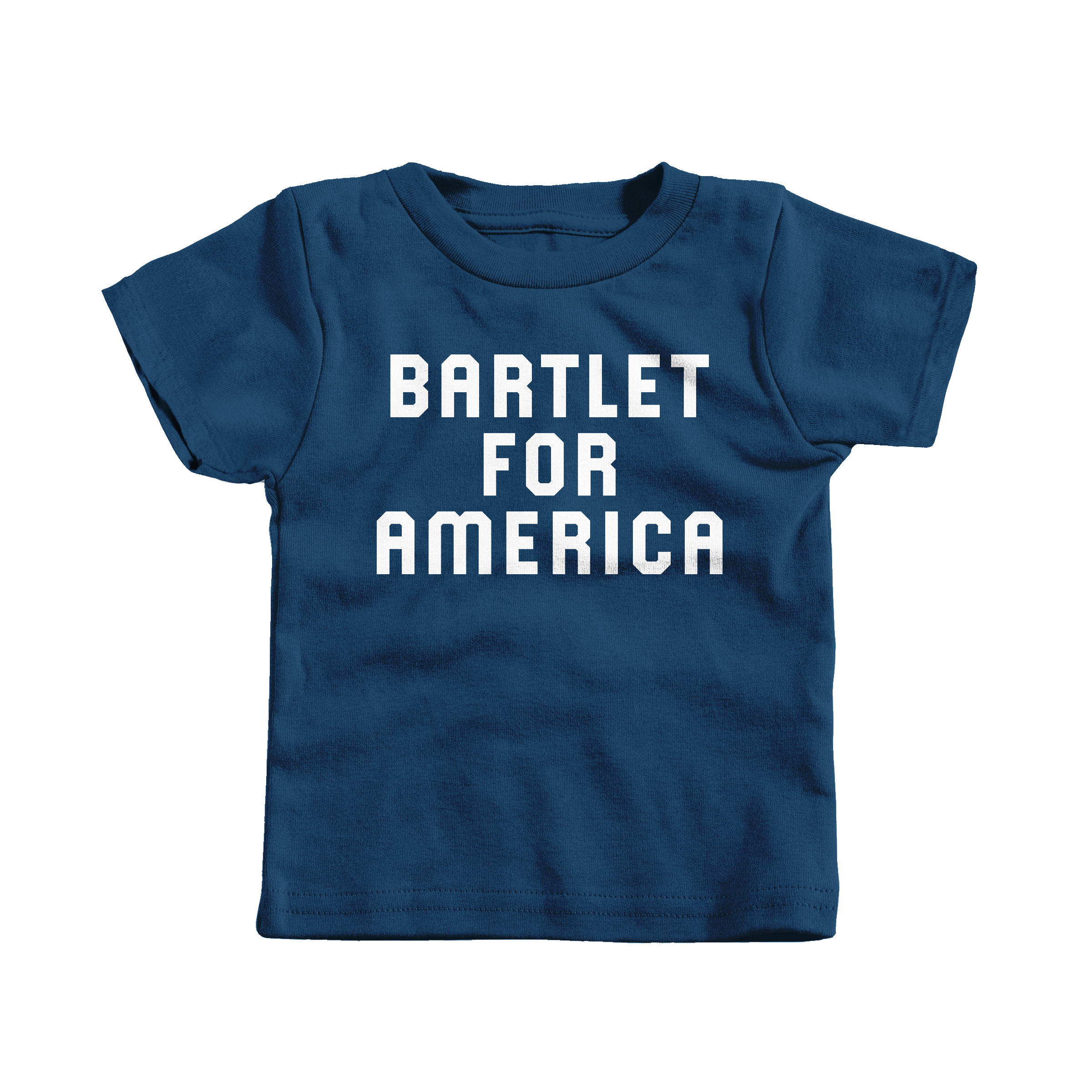 Bartlet For America Navy (T-Shirt)