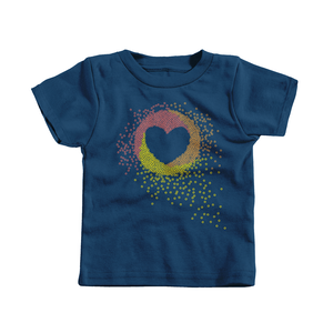 Kids Floating Heart Tee