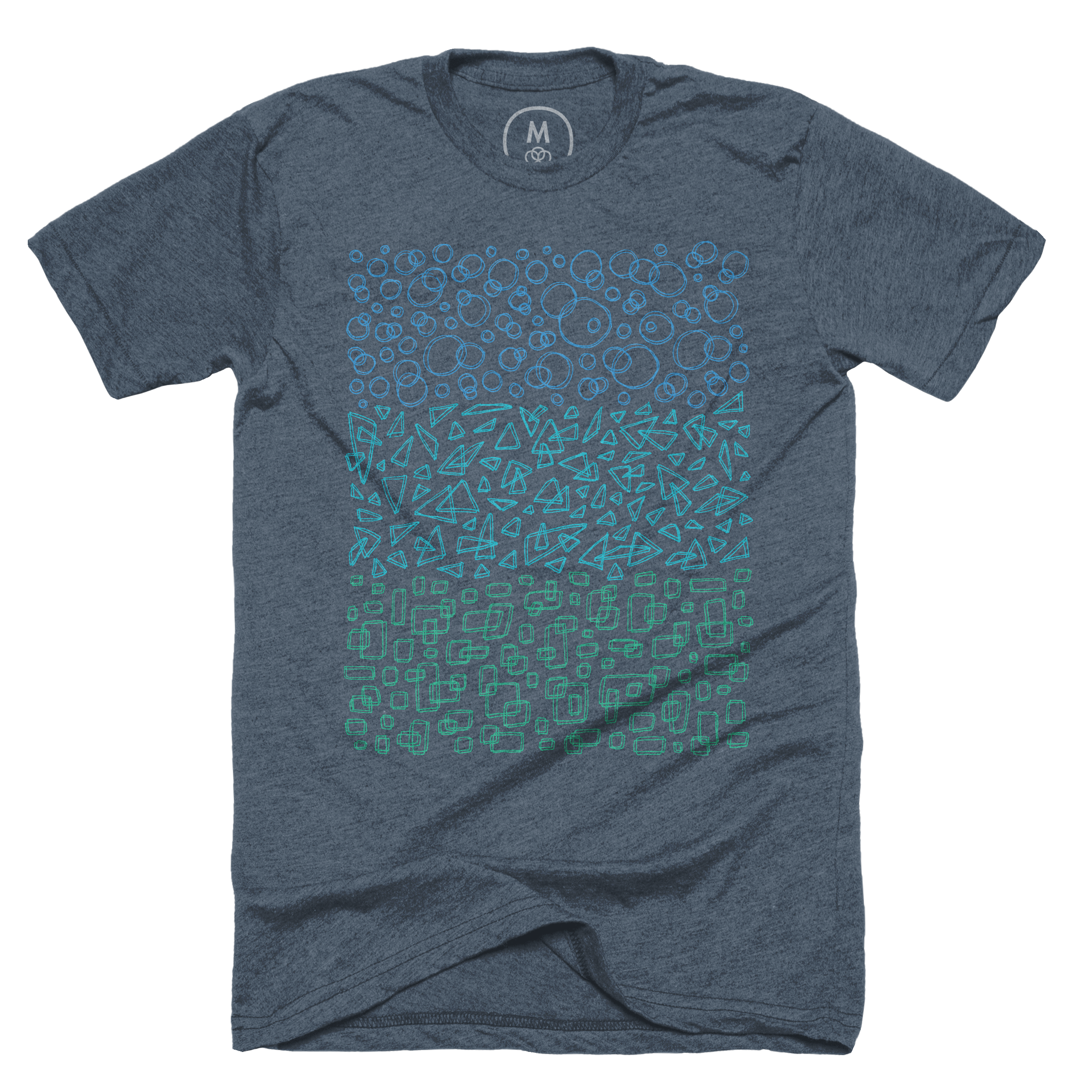 Geometric Trinity Indigo (Men's)