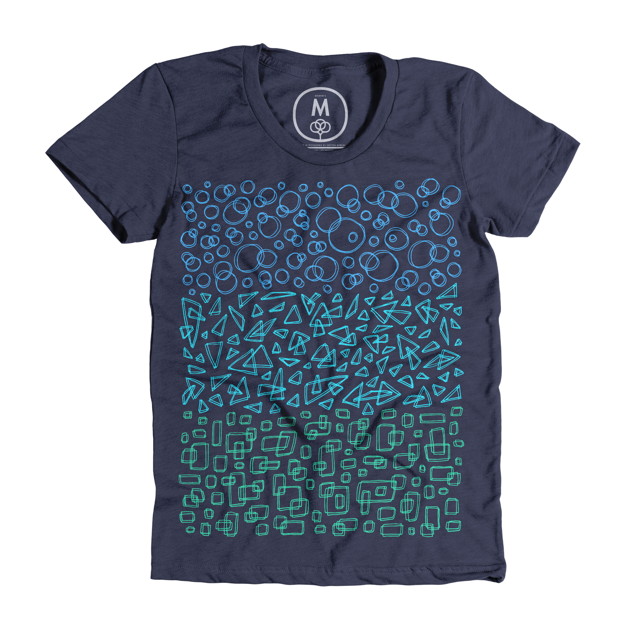 Geometric Trinity Midnight Blue (Women's)
