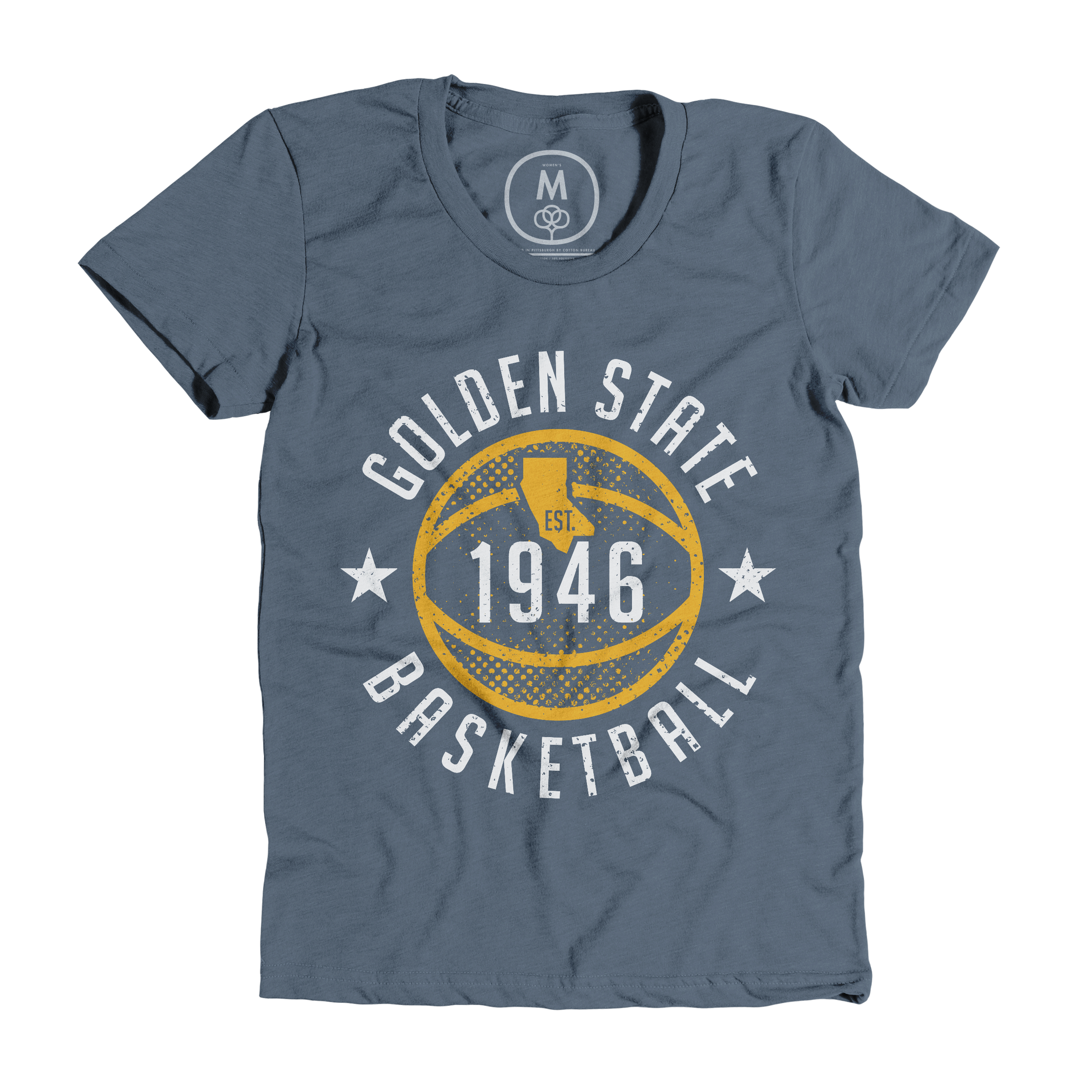 Golden State Basketball Indigo (Women's)