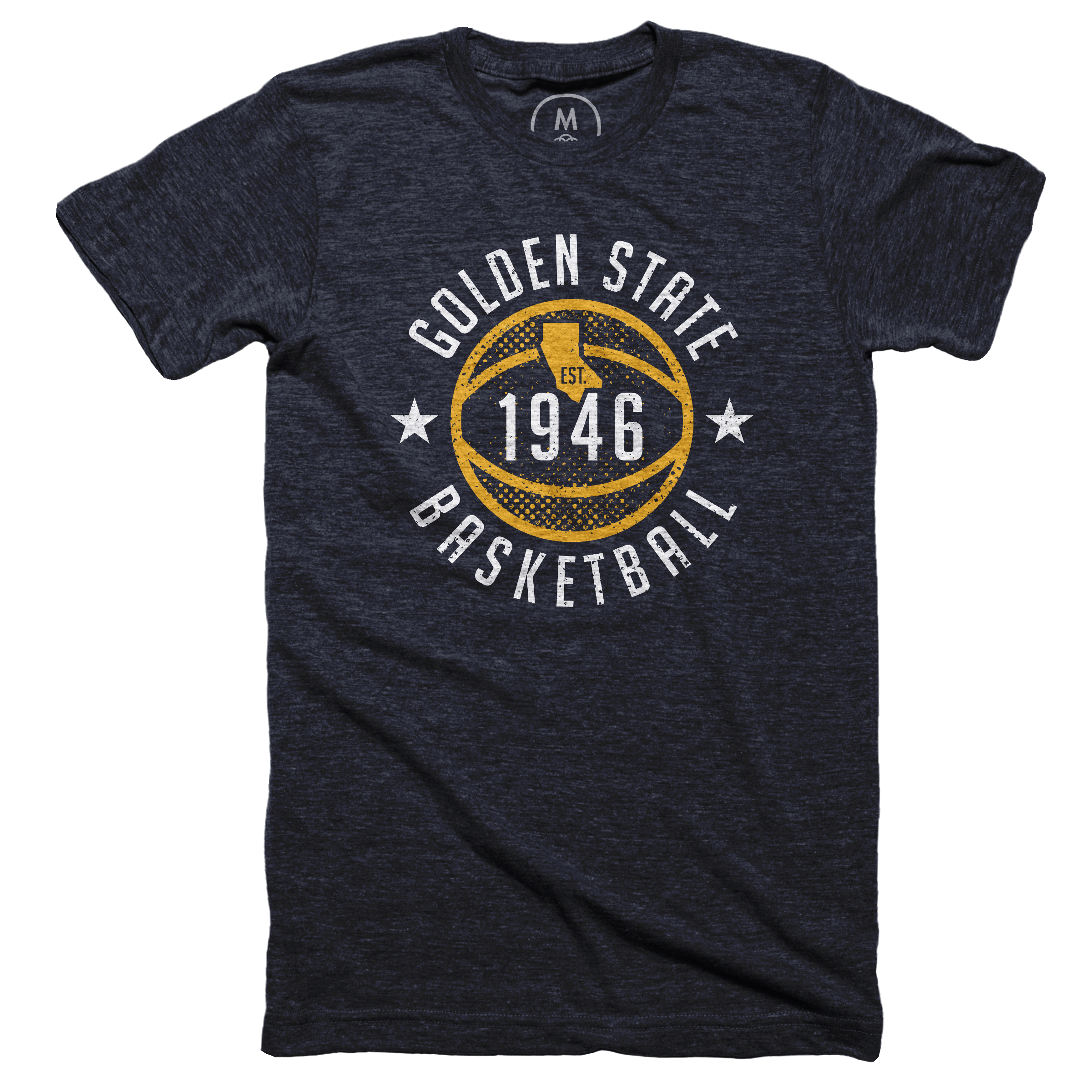 Golden State Basketball Vintage Navy (Men's)