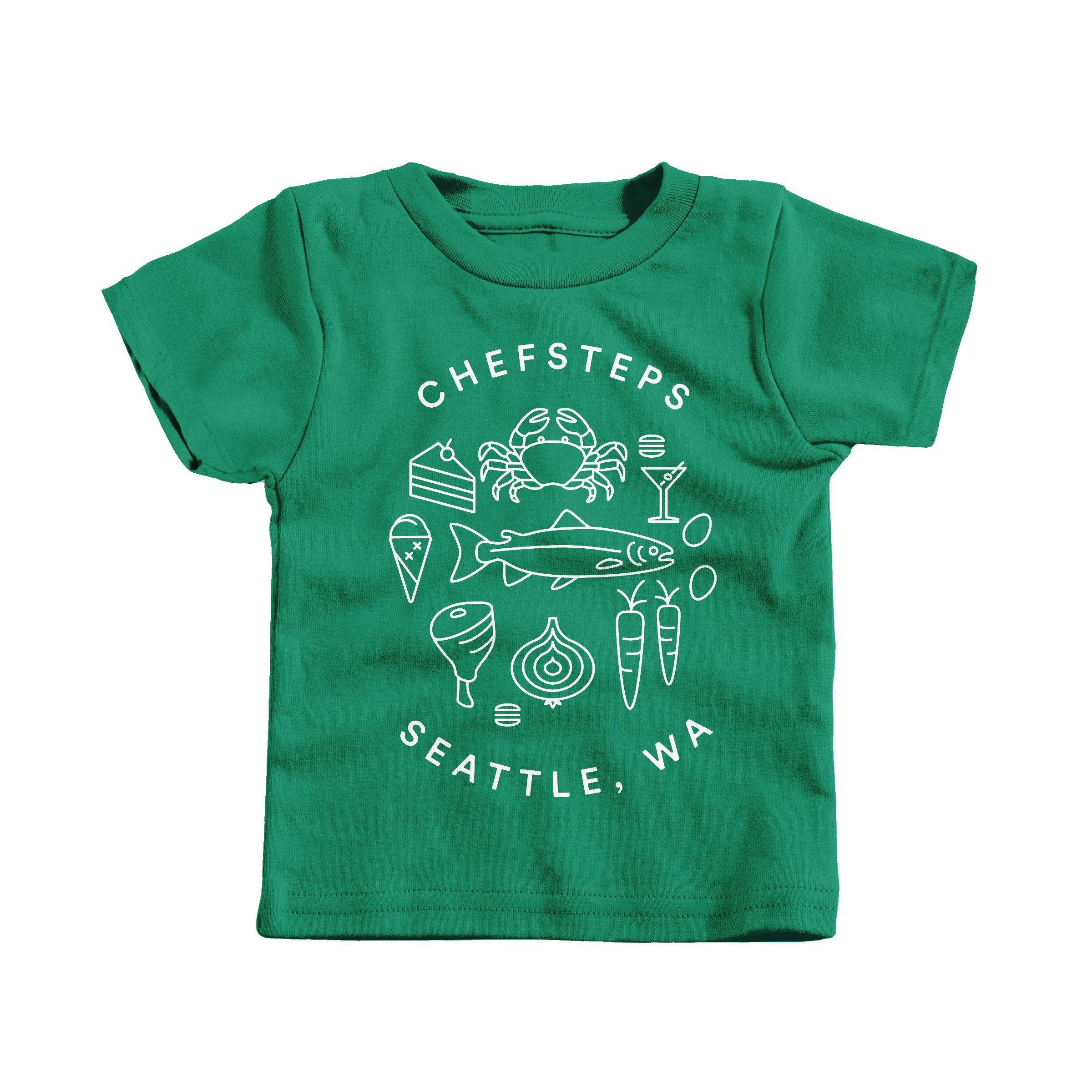 ChefSteps Coat of Arms Kelly (T-Shirt)