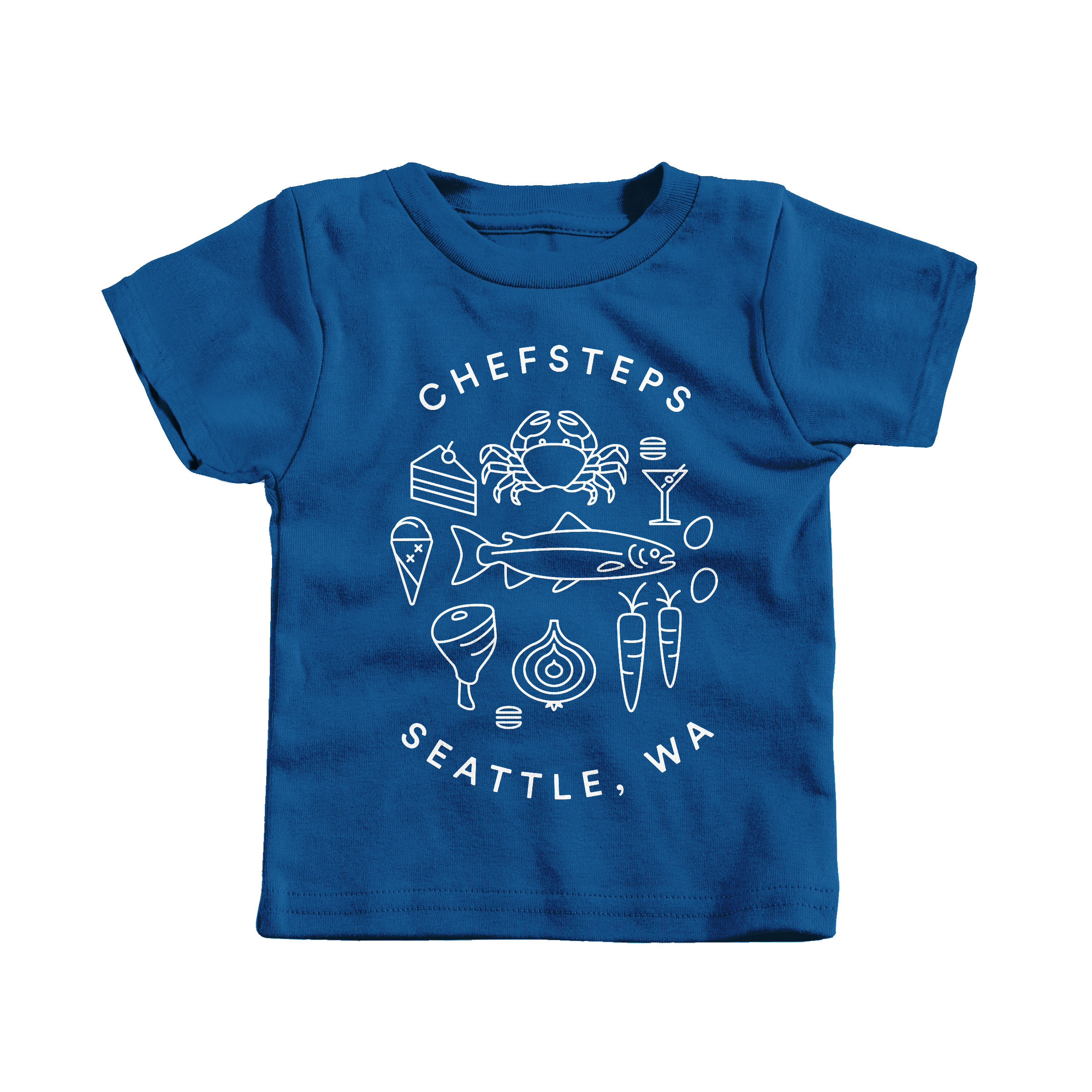 ChefSteps Coat of Arms Royal (T-Shirt)