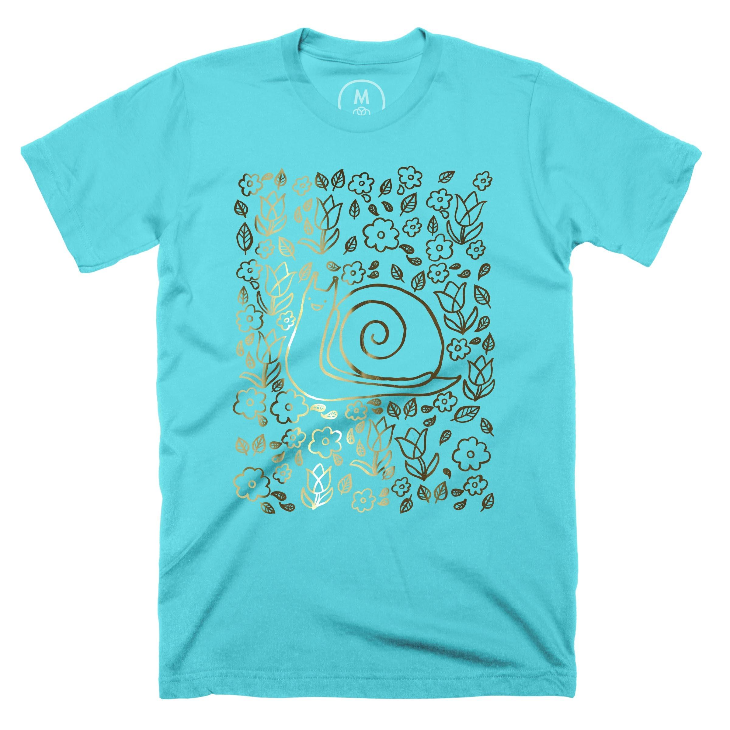 Snail Garden Tahiti Blue (Men's)