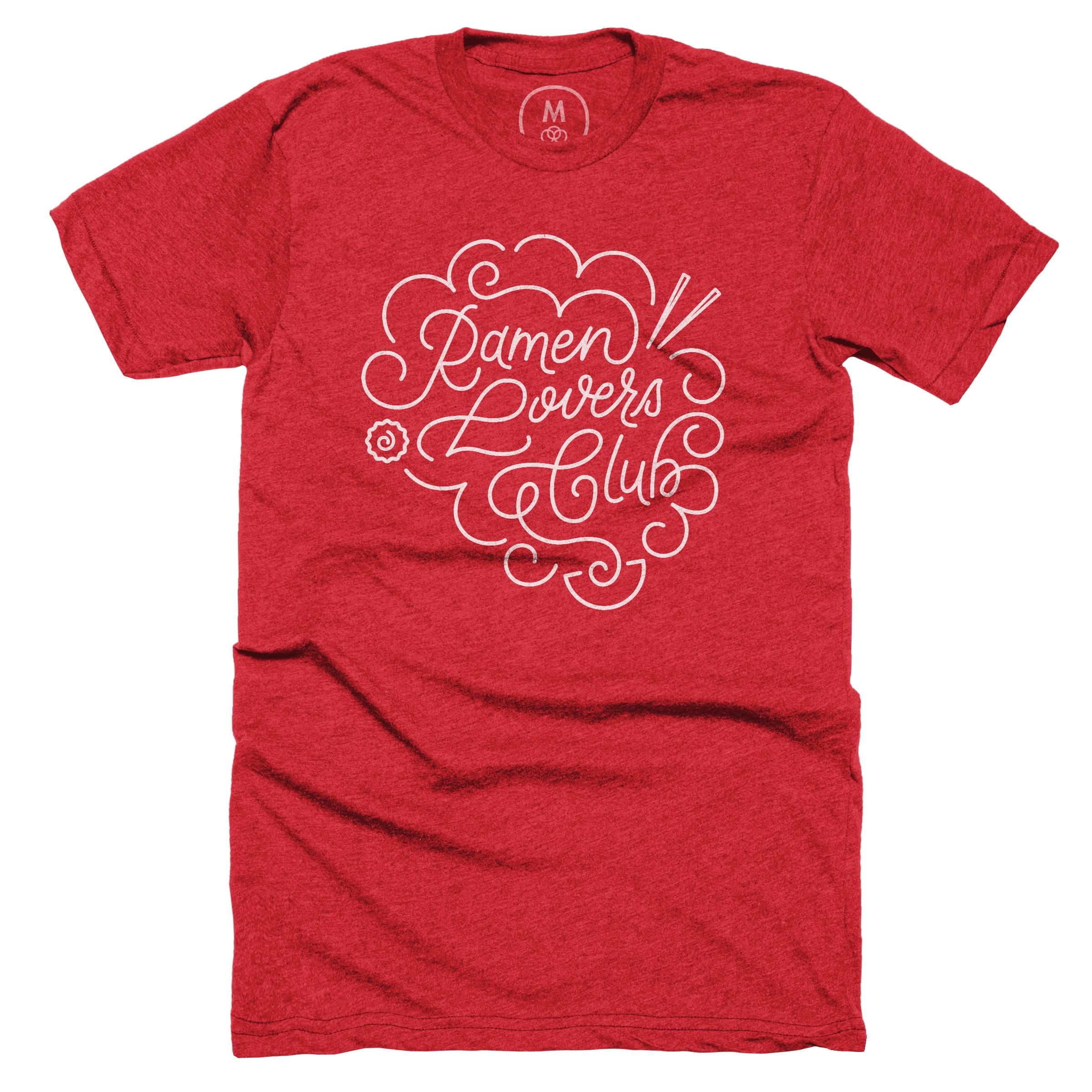 Ramen Lovers Club Red (Men's)
