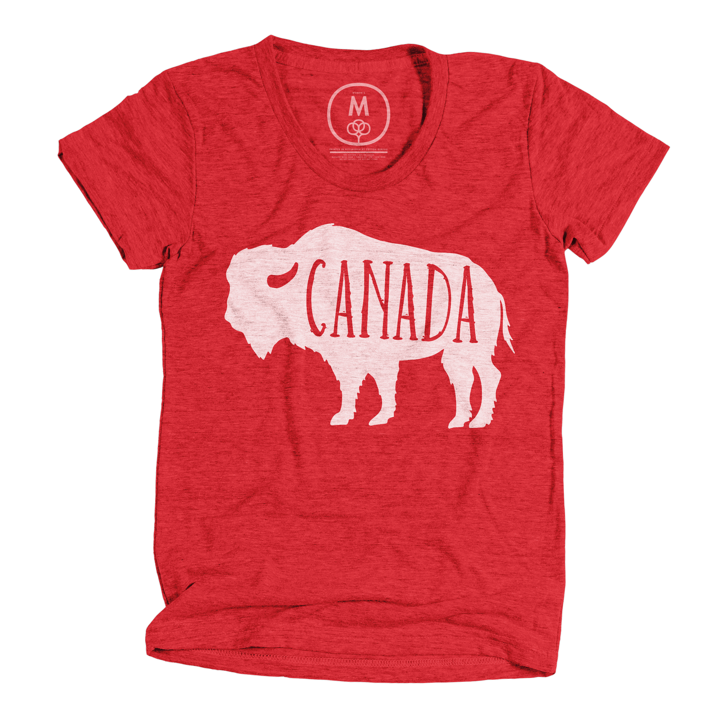 Canadian Bison Vintage Red (Women's)