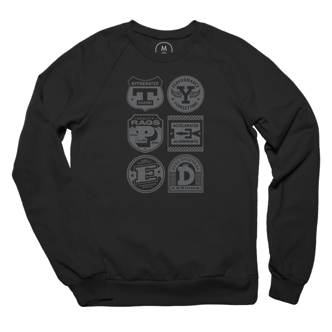 Turbocharged Type Pullover Crewneck