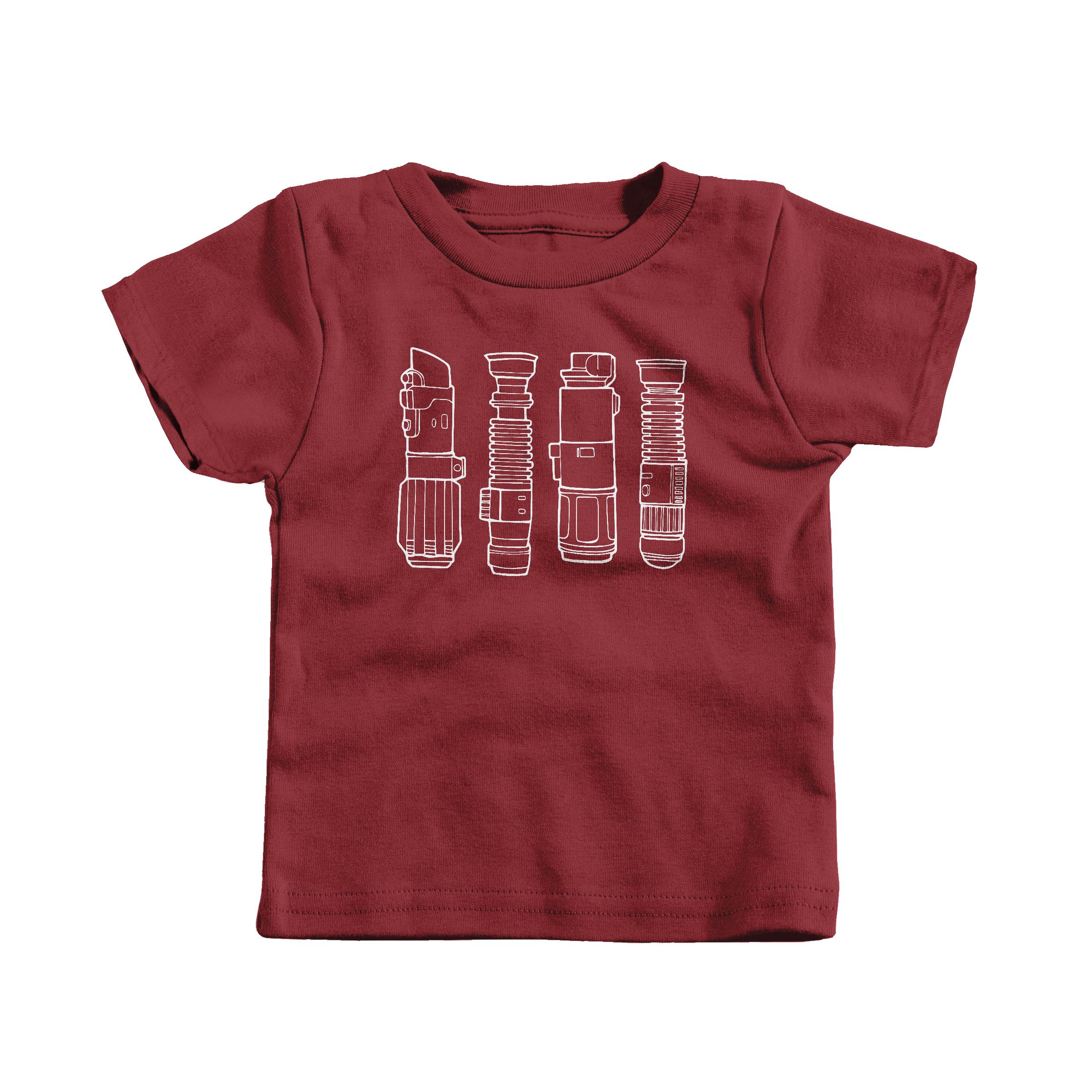 Lightsabers Garnet (T-Shirt)