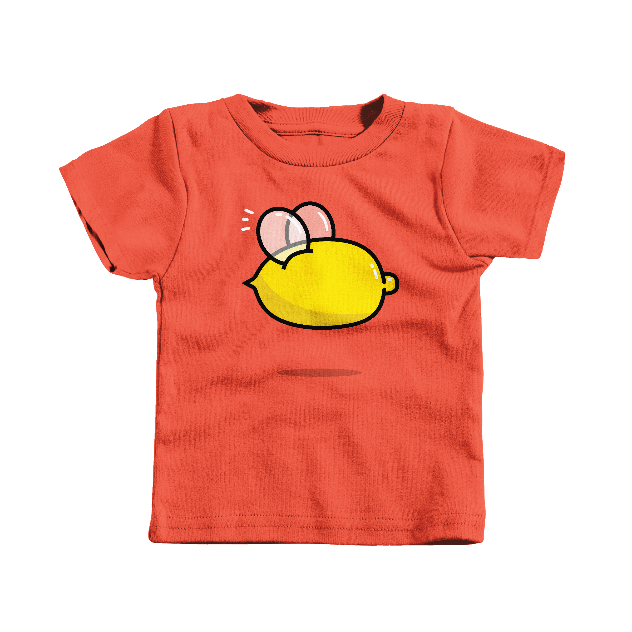 Lemon Bee Orange (T-Shirt)