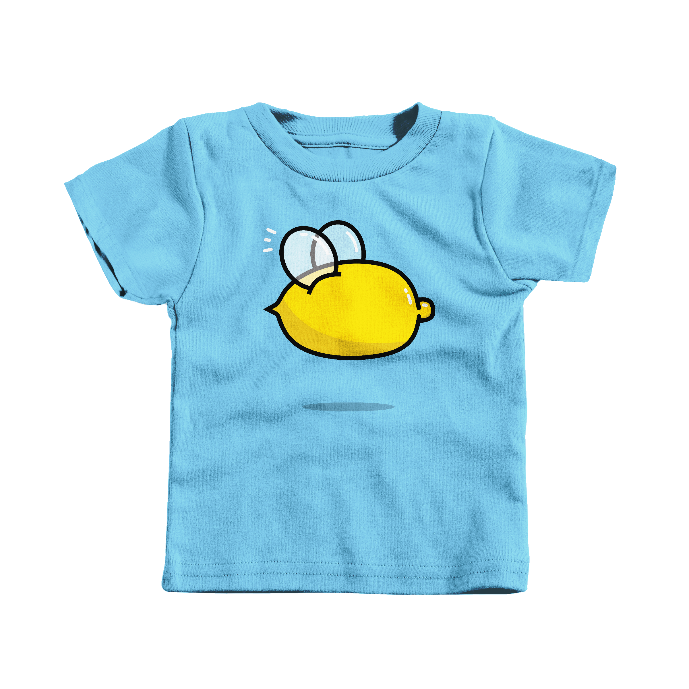 Lemon Bee Light Blue (T-Shirt)