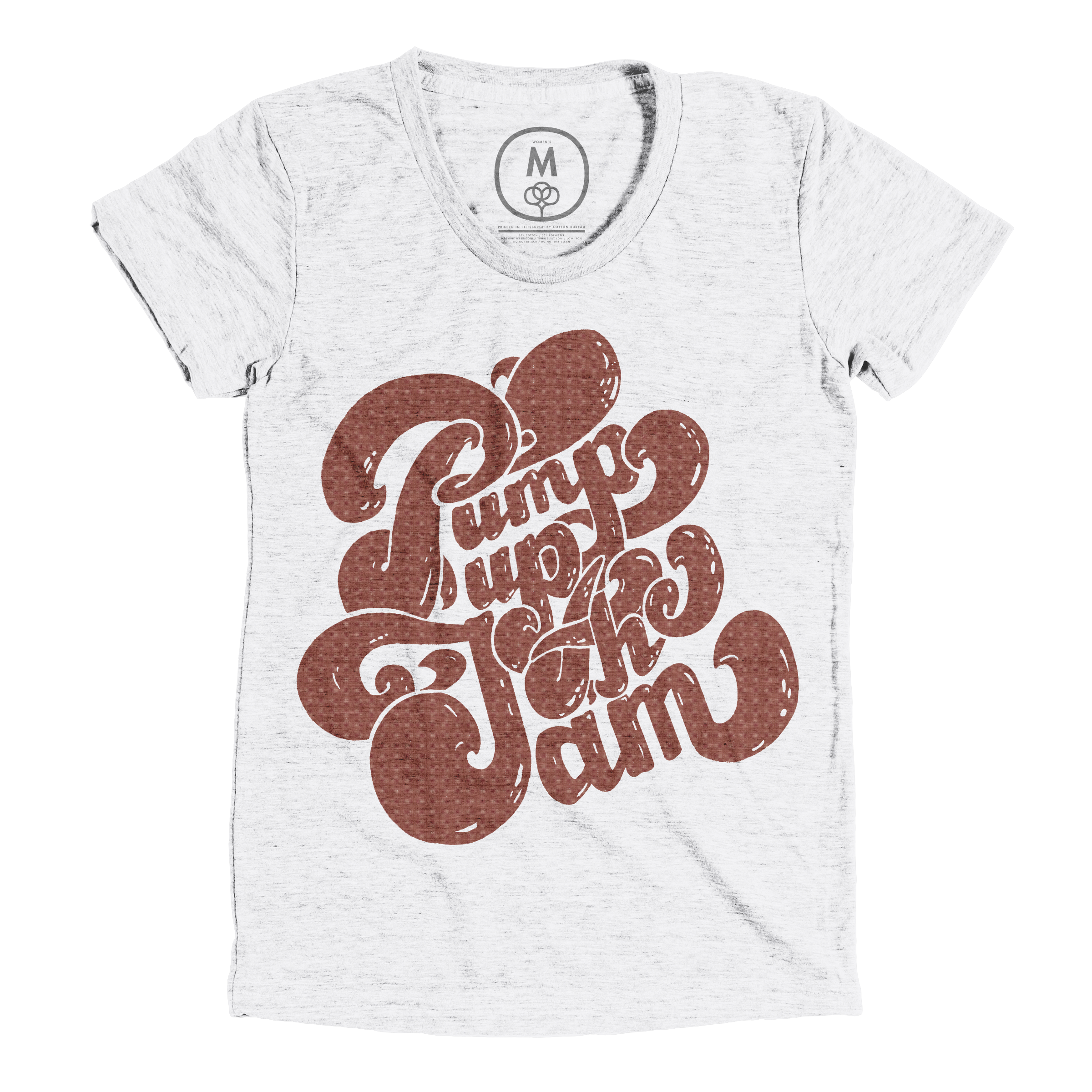 Pump Up the Jam Heather White (Women's)