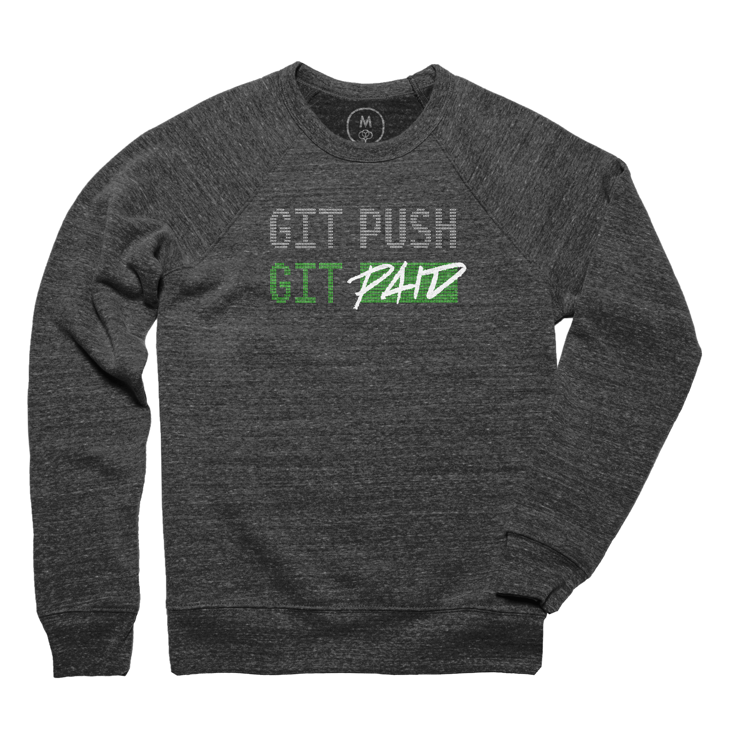 GIT PUSH && GIT PAID Pullover Hoodie
