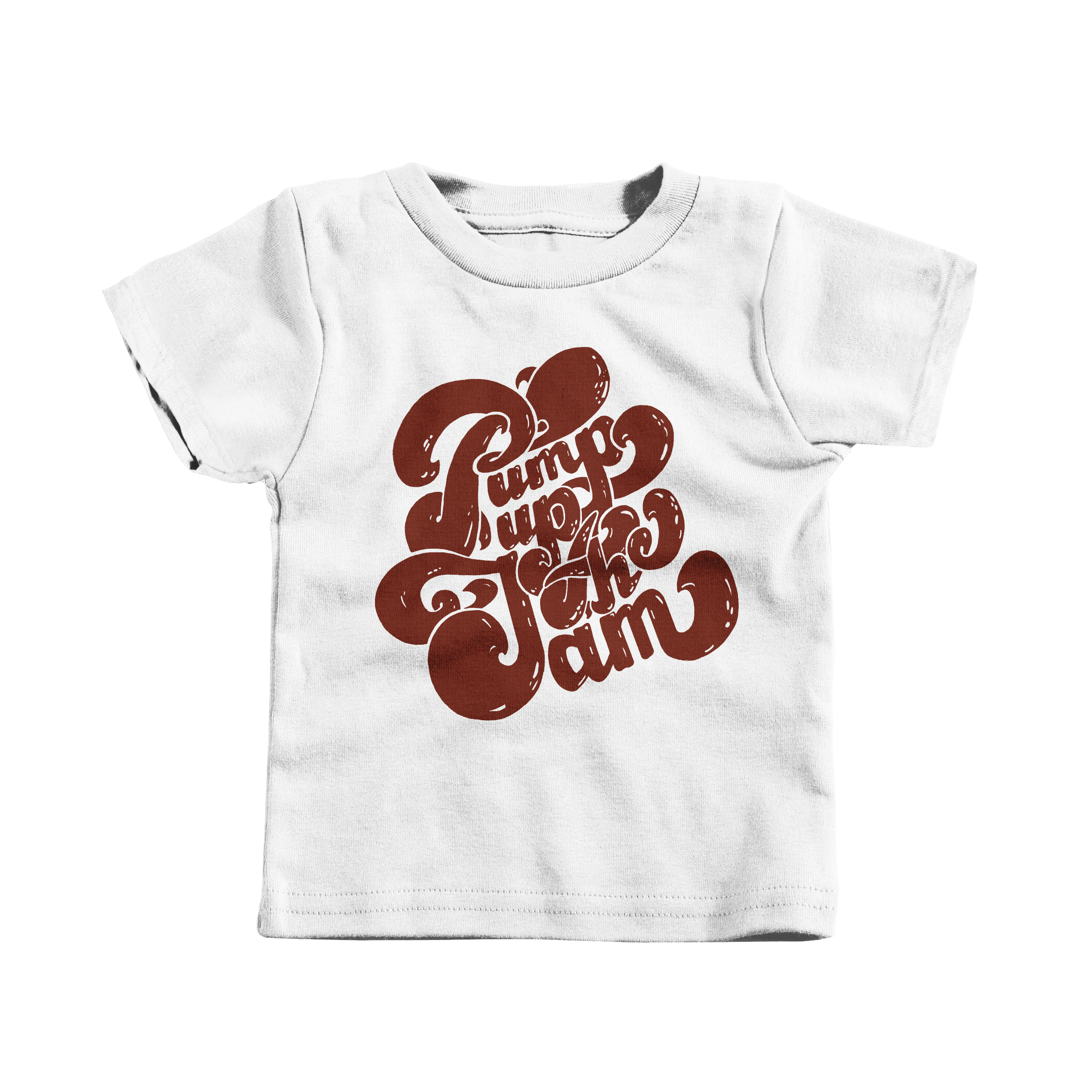 Pump Up the Jam White (T-Shirt)