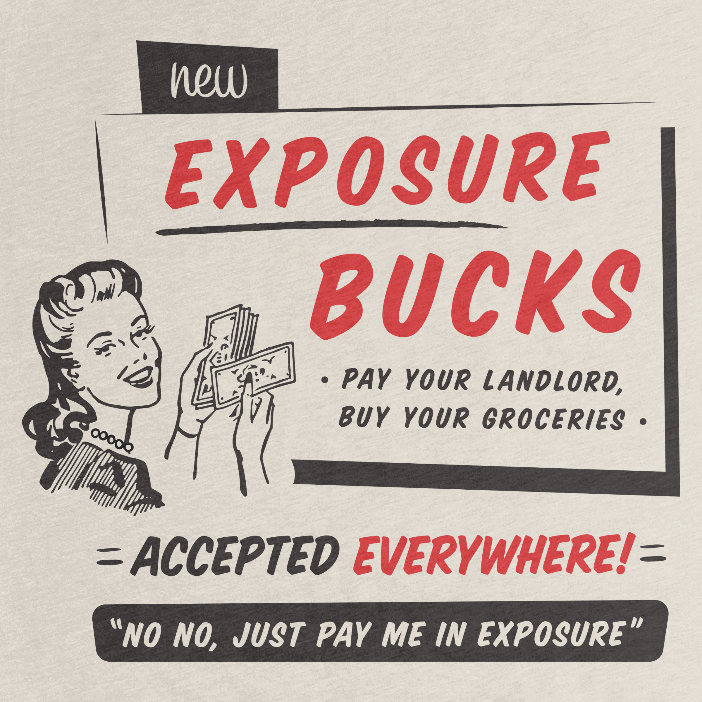 Exposure Bucks Detail