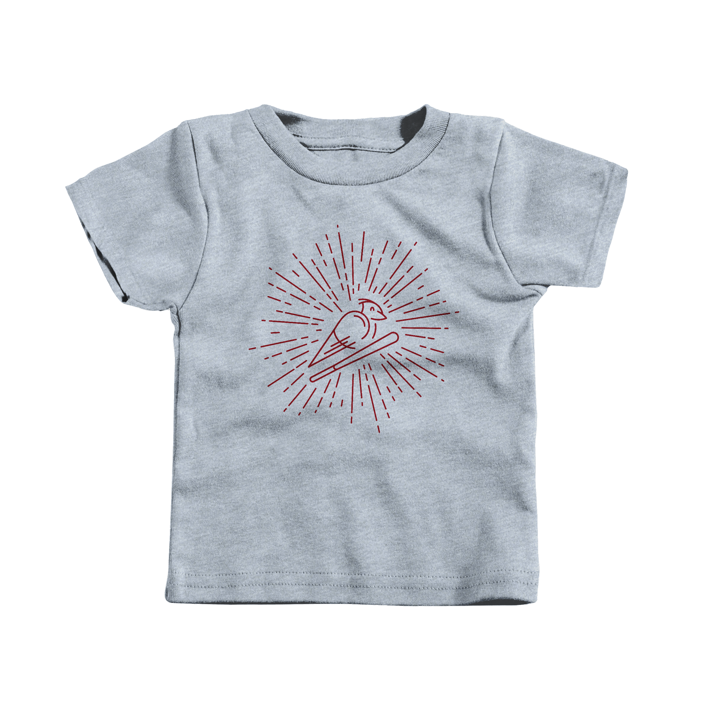 Cardinal Heather Grey (T-Shirt)