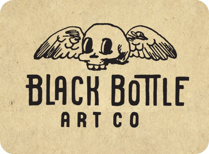 Black Bottle Art CO.
